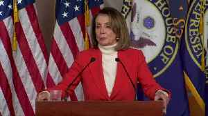 """I'm the best person"" to be speaker: Pelosi [Video]"