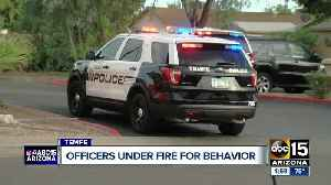 Tempe Police Chief addresses officers conduct on work trip [Video]