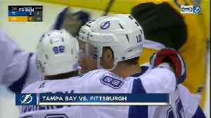 Brayden Point scores 3 power play goals in 1:31, Tampa Bay Lightning beat Pittsburgh Penguins 4-3 [Video]