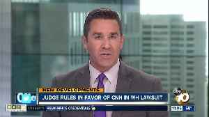 Judge rules in favor of CNN in White House suit [Video]