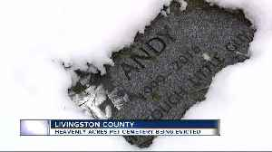 Genoa Township pet cemetery scrambling for answers after being evicted [Video]