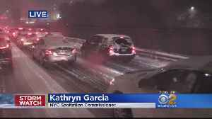 NYC Sanitation Commissioner Details City's Response To Snowstorm [Video]
