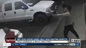 Vegas police release footage of suspects in fatal road rage shooting [Video]