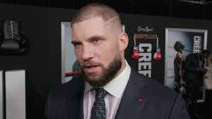 Florian Munteanu Is Massive At 'Creed 2' Premiere [Video]
