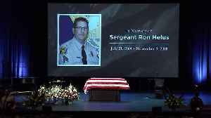 Sgt. Ron Helus, Who Was Killed Trying to Stop California Bar Shooting, Remembered as `Hero` at Funeral Service [Video]