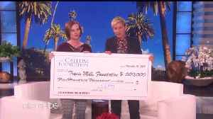 Single Mom Who Won Powerball Shares Winnings with Disabled Veterans [Video]