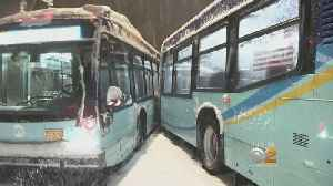 Widespread Issues Reported With MTA Buses Due To Snowstorm [Video]