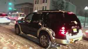 Storm Creates Dangerous Driving Conditions In New Jersey [Video]