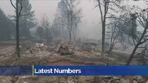 Camp Fire Latest Numbers, Nov. 15, 2018 [Video]