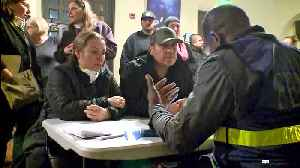 Evacuees Get Information on Wildfire Recovery Options from FEMA Officials [Video]