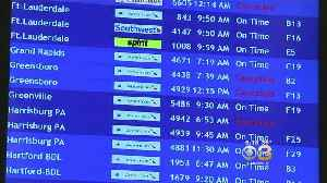 Dozens Of Flights Cancelled, Delayed AT PHL Due To Winter Weather [Video]