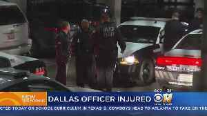 Off-Duty DPD Officer Hit By A Car After Confronting Burglars [Video]