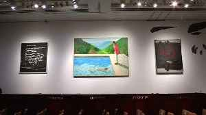 Hockney painting smashes auction records [Video]