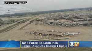 Task Force Created To Help US Airlines Deal With Passenger Sexual Misconduct [Video]