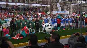 Homeless World Cup kicks off in Mexico [Video]