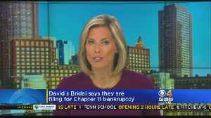 David's Bridal Filing For Chapter 11 Bankruptcy [Video]