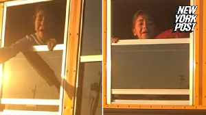 School bus driver terrorizes children by trapping them in bus [Video]
