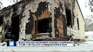 Body found in Detroit house confirmed to the police commissioner's son [Video]