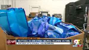 Matthew 25: Ministries helps wildfire victims [Video]