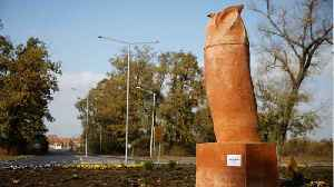 'Phallic' Owl Statue Unveiled In Serbia, Locals Say It Is A 'Complete Failure' [Video]