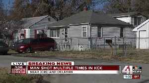 Man suffers critical injuries in KCK shooting [Video]