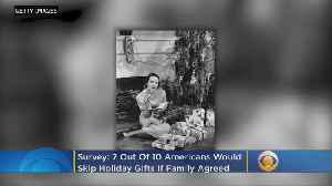 Study: Most Would Skip Gift Exchanges If Family Agreed [Video]