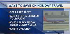 Cost-saving tips for Thanksgiving travel [Video]