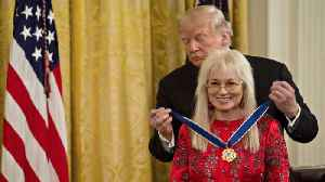 She gave the GOP millions this midterm season. Now she has the Presidential Medal of Freedom. [Video]