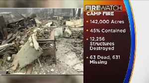 Containment Of Camp Fire Grows To 45 Percent [Video]