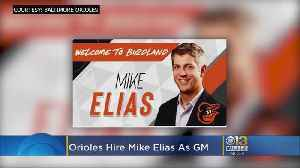 Mike Elias Named Orioles New General Manager [Video]