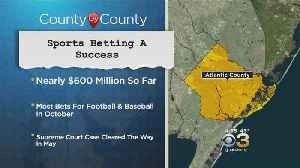 Sports Betting Appears To Be Big Success In Atlantic City [Video]