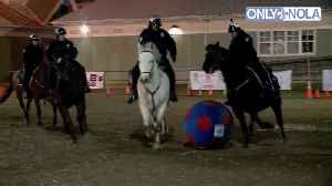 Get a kick out of this video: NOPD horses hit the field for soccer match [Video]