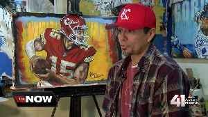 KC artist gets noticed for Mahomes painting [Video]
