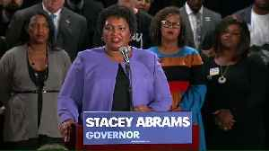 Abrams admits defeat in Georgia governor's race [Video]