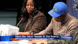 Jemison track star goes to the swamp [Video]