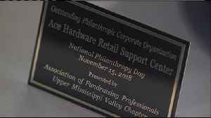 Local fundraisers honored as part of National Philanthropy Day [Video]