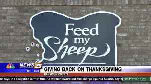 Giving back on Thanksgiving [Video]