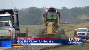 Gray Rd. Closed for Repairs [Video]