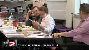 Counting absentee ballots in the 22nd Congressional District [Video]