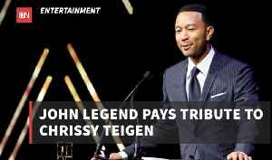 John Legend Gets Emotional Over His Wife [Video]