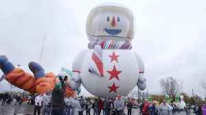 Behind the Scenes of the Macy's Thanksgiving Day Parade [Video]