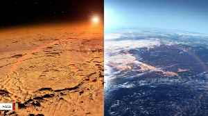 Scientists Say Overflowing Lakes May Have Carved Martian Canyons [Video]