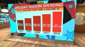Holiday shopping could top $1 trillion this year [Video]