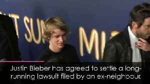 Justin Bieber to settle lawsuit filed by ex-neighbours [Video]