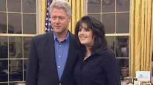Monica Lewinsky Looks in Awe of President Clinton in Newly Surfaced Video [Video]