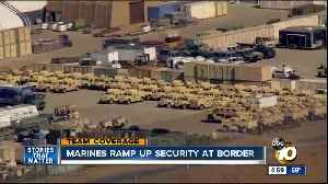 Military to assist border patrol, man damages new razor wire at US-Mexico border [Video]