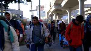 Half Of The 'Second Caravan' Leaves Mexico City [Video]
