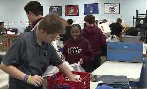 Faith Lutheran students volunteer as part of middle school service event [Video]