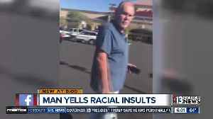 Man caught on camera hurling racial insults [Video]