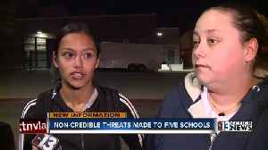 Non-credible threats made to 5 schools [Video]
